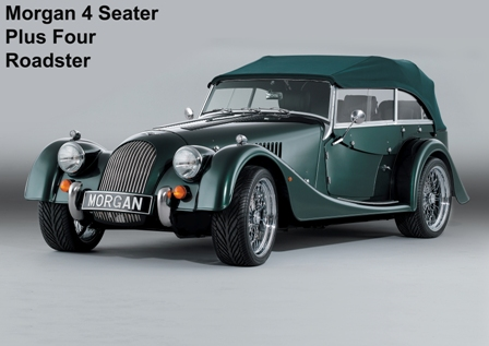 The New Morgan +4 And Roadster V6 4 Seater